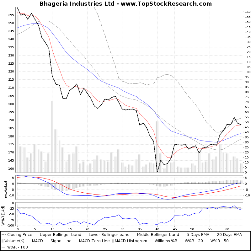 ThreeMonthsTechnicalAnalysis Technical Chart for Bhageria Industries Ltd