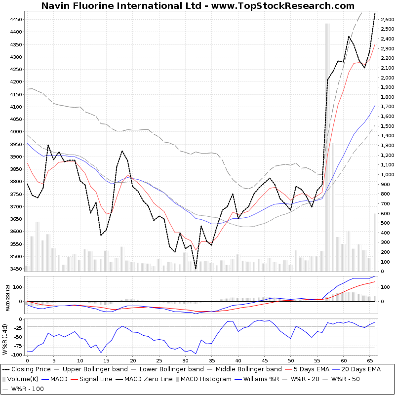 ThreeMonthsTechnicalAnalysis Technical Chart for Navin Fluorine International Ltd